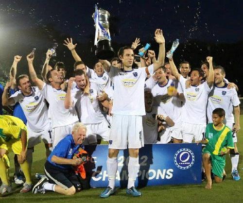 2012 オセアニアチャンピオン