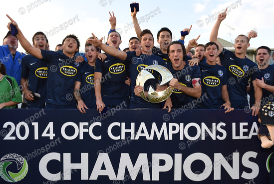 OFC Champions League Final - Auckland City FC v Amicale FC, 18 May 2014
